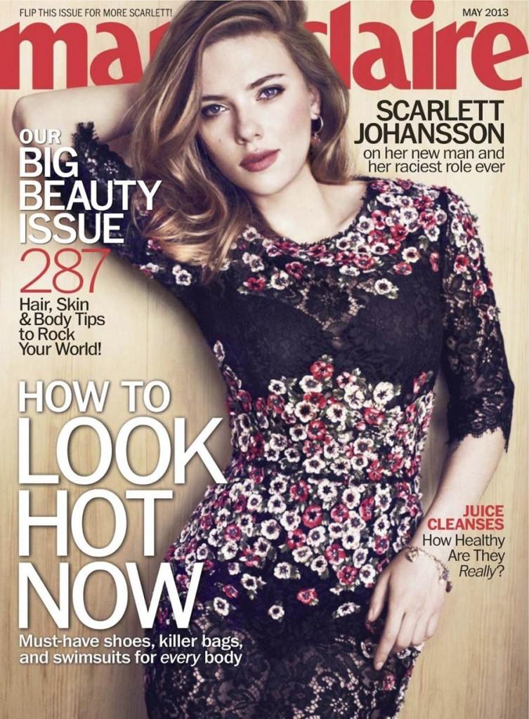 American actress Scarlett Johansson