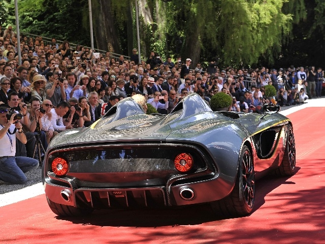 Concept Cars and Prototypes at Concorso