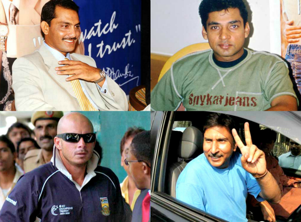 banned cricketers