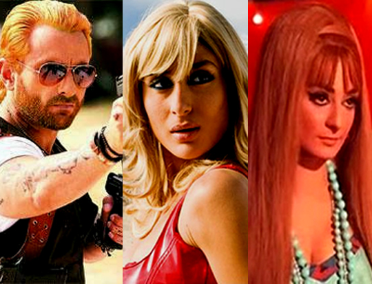 Blonde in Bollywood