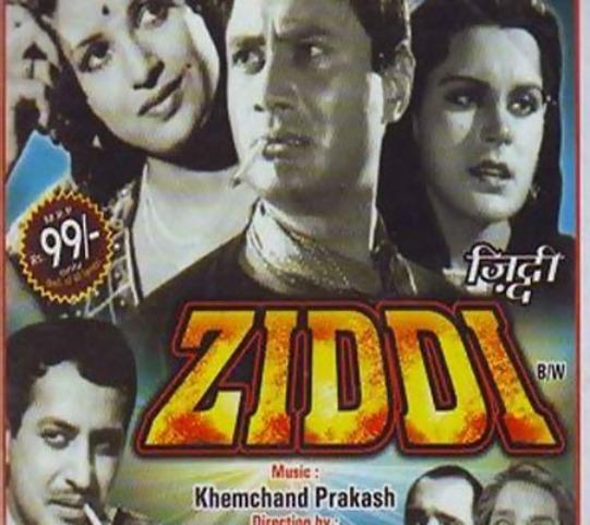 Ziddi (1948)