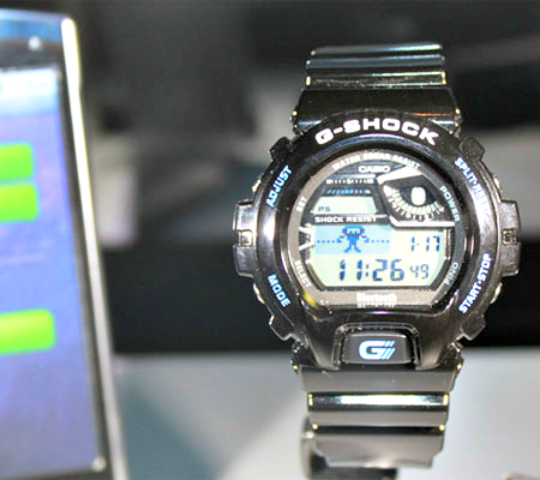 Casio G Shock Bluetooth Watch