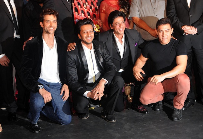 Hrithik, Ritesh, Shah Rukh Khan, Aamir Khan