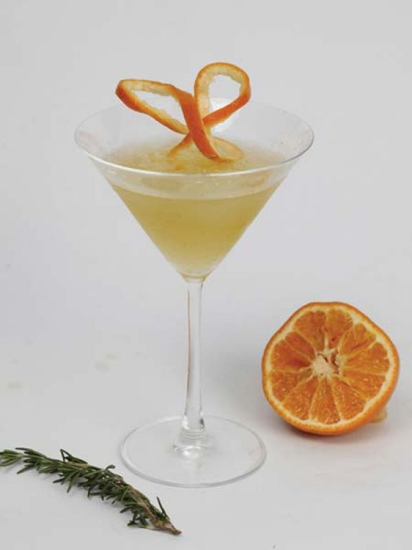 Citrus Rosemary Martini