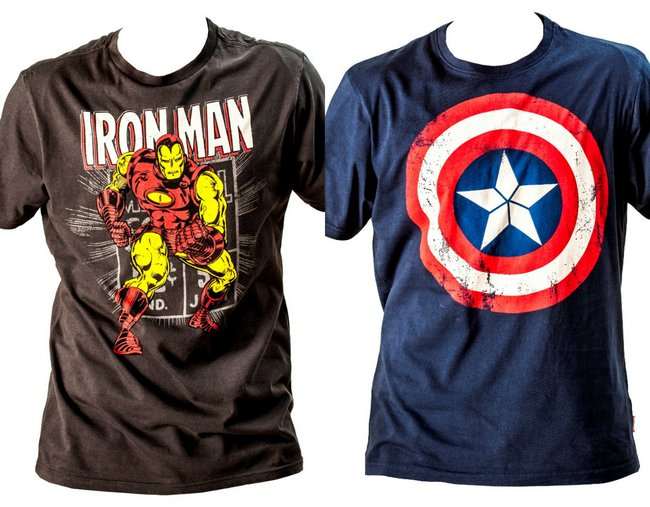 summer trend funky superhero t shirts. Black Bedroom Furniture Sets. Home Design Ideas