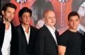 Hrithik Roshan, Shah Rukh Khan, Anupam Kher, Aamir Khan