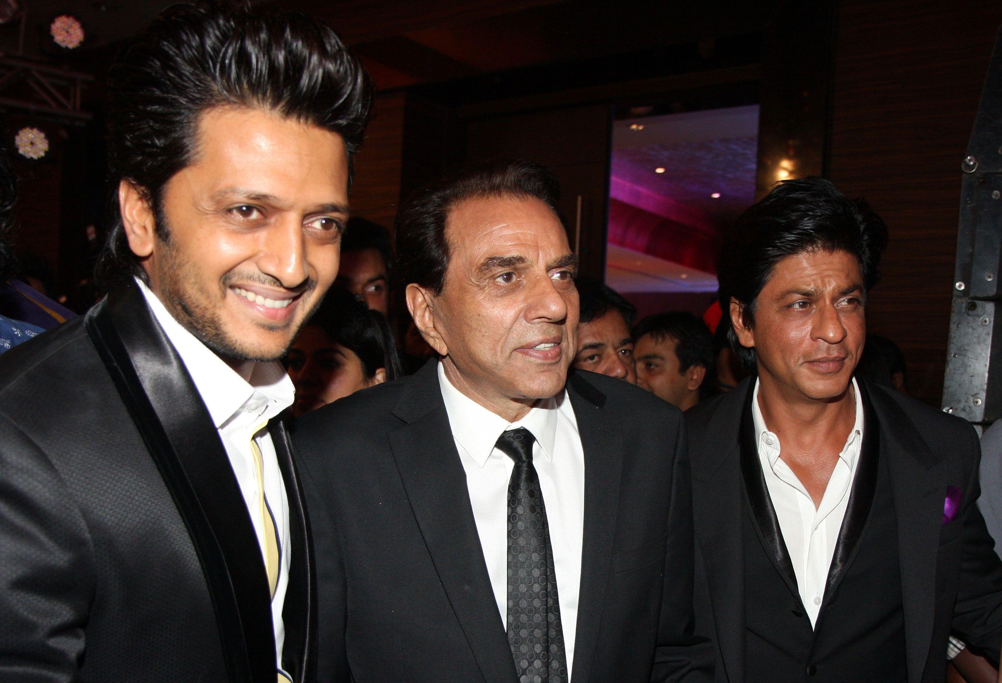 Ritesh, Dharmendra, Shah Rukh Khan
