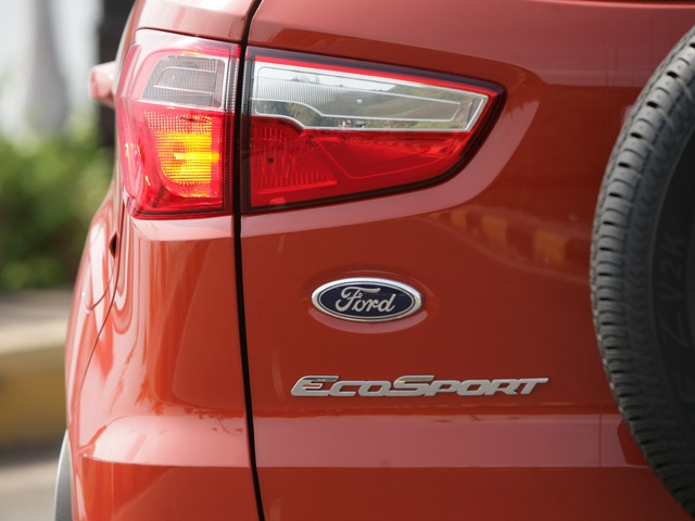 Ford EcoSport rear badging