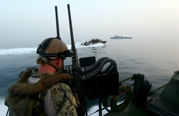 Massive Naval Minesweeping Exercise