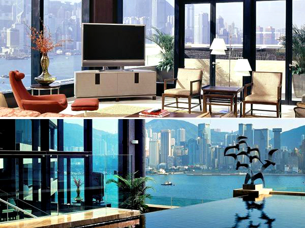 Presidential Suite, InterContinental, Hong Kong