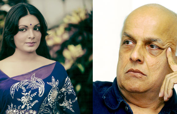 Parveen Babi and Mahesh Bhatt