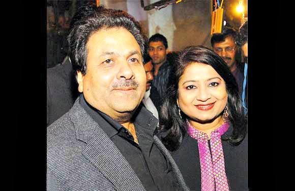 Rajeev Shukla and Anurradha Prasad