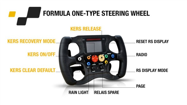 F1-Type Steering Wheel