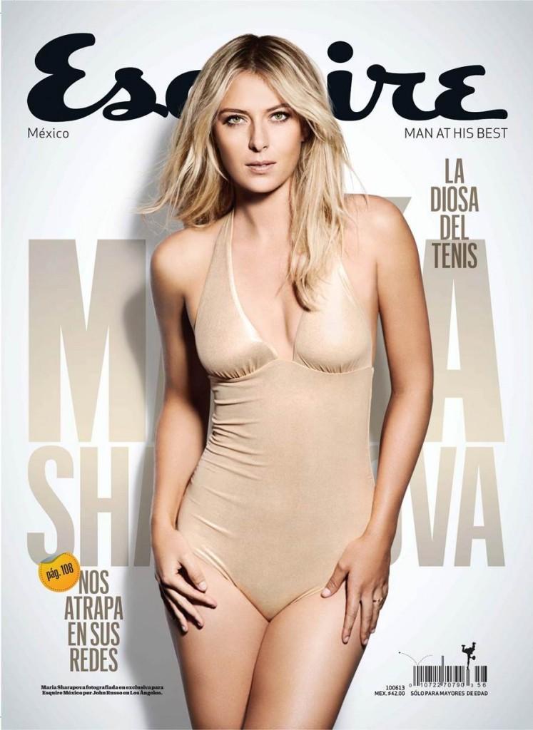 Russian model and Tennis star Maria Sharapova