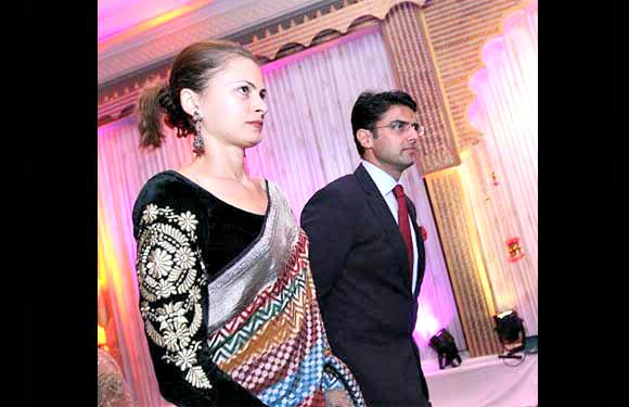 Sachin Pilot and Sara Abdullah