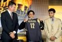 2009 Shah Rukh Khan, John Buchanan and Sourav Ganguly