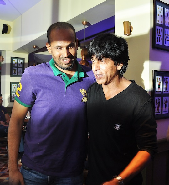 Shah Rukh Khan, Yusuf Pathan