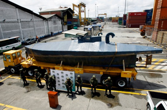 Drug-Smuggling Homemade Submarines
