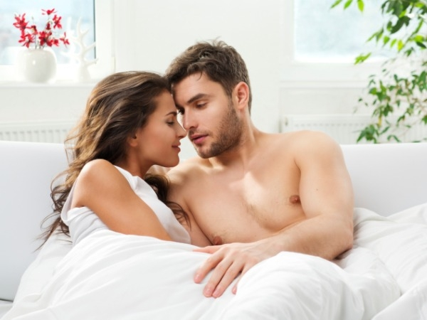 Man feels energetic after sex