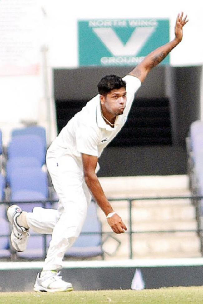 Umesh Yadav - The tearaway fast bowler