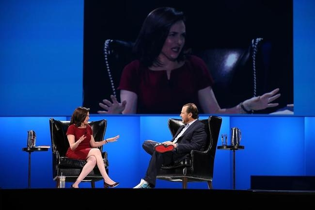 Technology Business Leaders Address Salesforce Conference