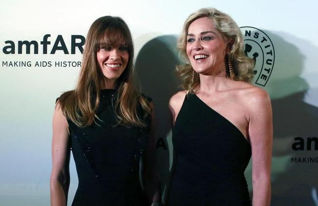 Hilary Swank, Sharon Stone