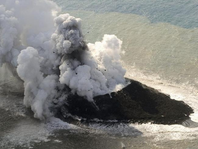 Volcano Eruption Creates New Island in Japan!