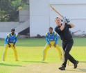 David Cameron Plays Cricket