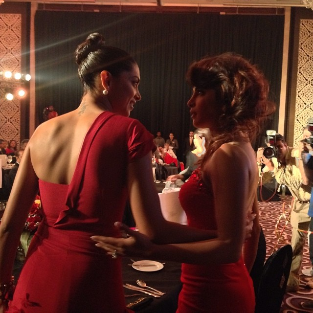Priyanka Chopra with Lara Dutta