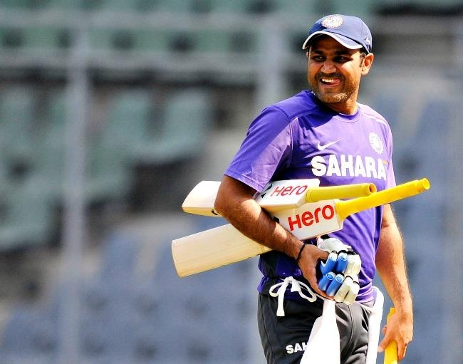 Virender Sehwag (Out)