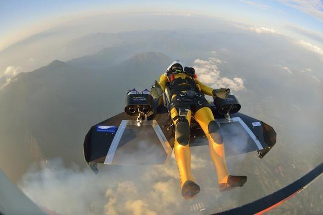 Jet-Powered Carbon-Kevlar