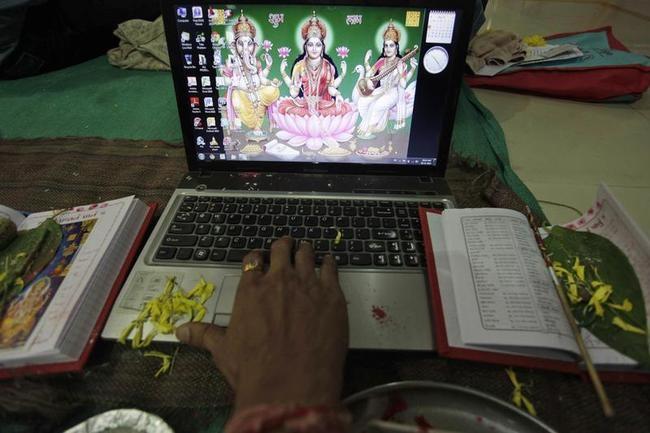 India Celebrates Diwali