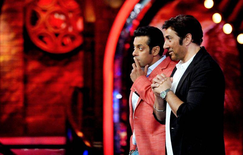 Salman Khan and Sunny Deol