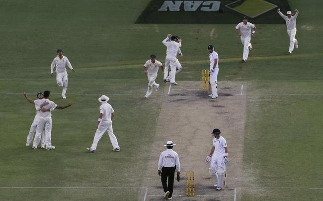 The Moment when Australia wins the game