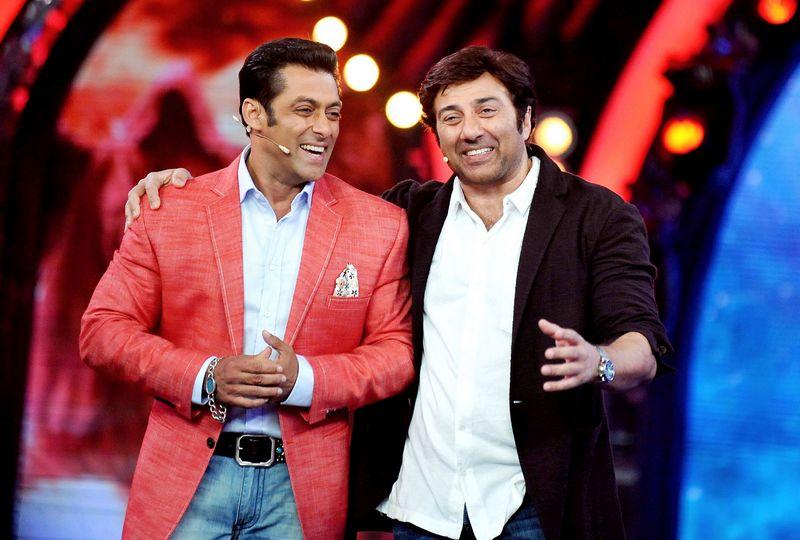 Sunny Deol and Salman Khan