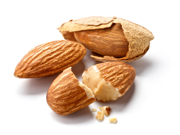 Besan and almonds paste