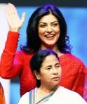 Susmita Sen and Mamata Banerjee