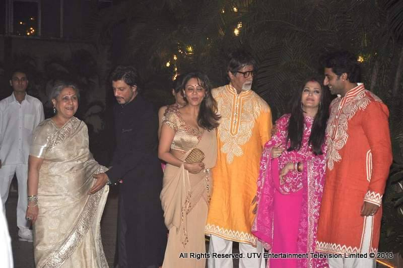 Shah Rukh Khan and the Bachchans