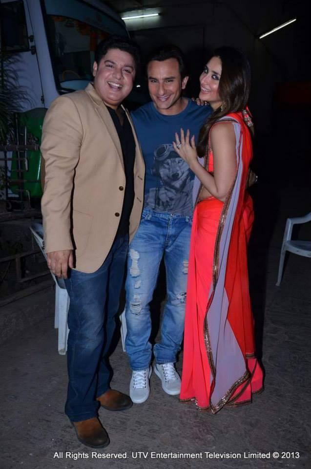Sajid Khan, Saif Ali Khan and Kareena Kapoor