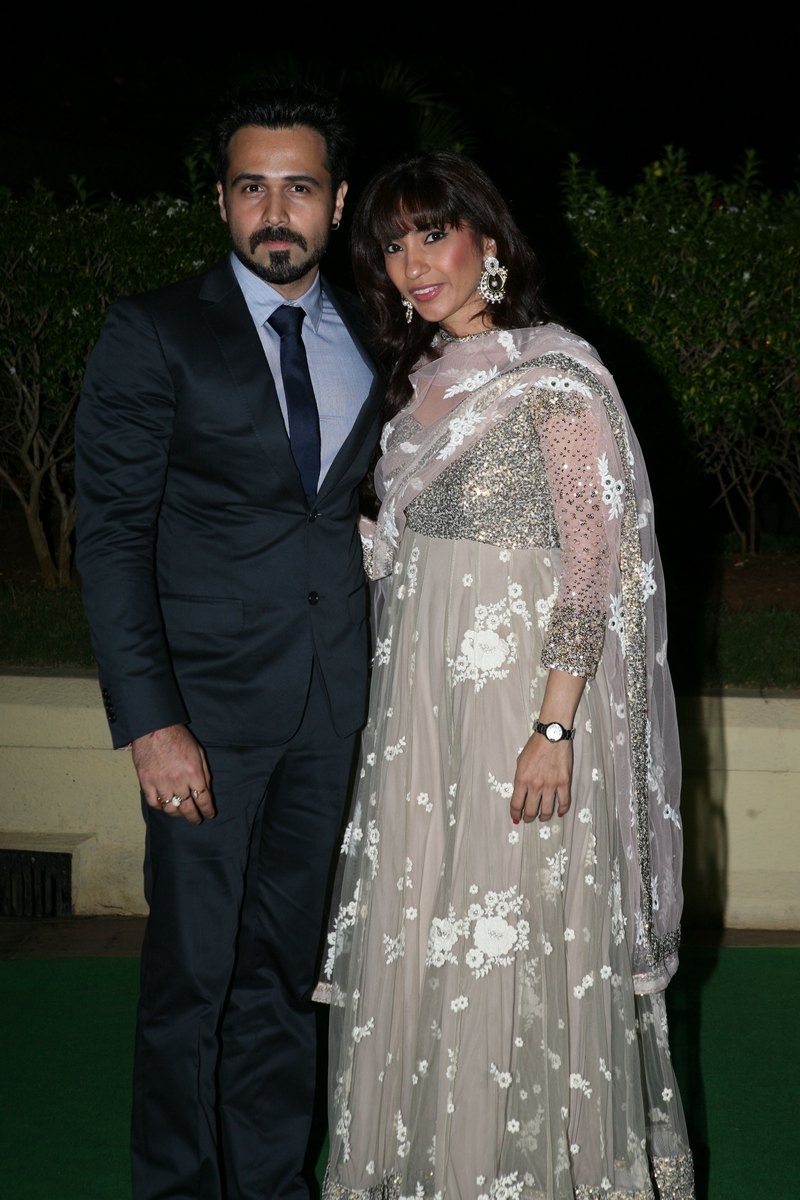 Emraan Hashmi and wife