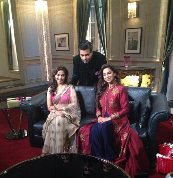 Madhuri Dixit-Nene and Juhi Chawla on Koffee With Karan