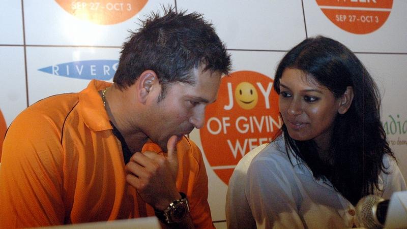 Sachin Tendulkar and Nandita Das