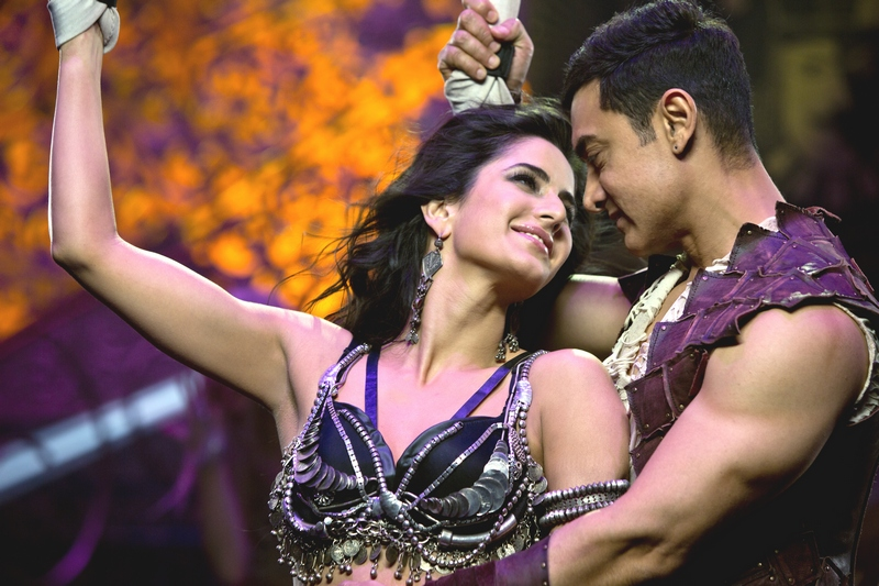Katrina Kaif and Aamir Khan