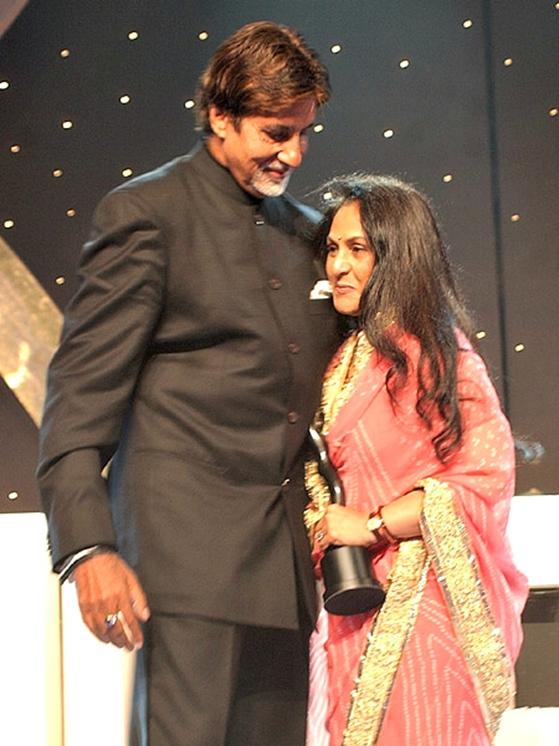 Amitabh Bachchan and Jaya Bhaduri