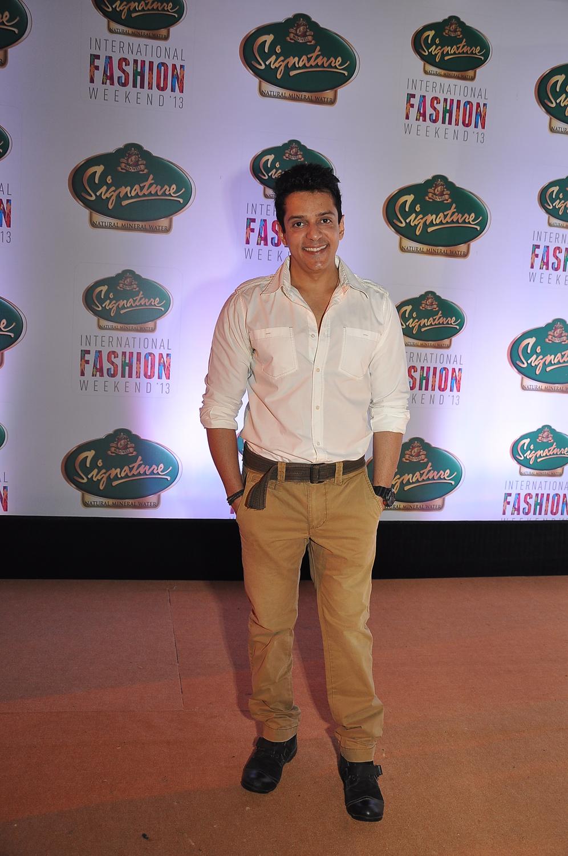 Ajay Gehi at Signature International Fashion Weekend