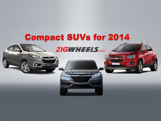 Compact SUVs for 2014