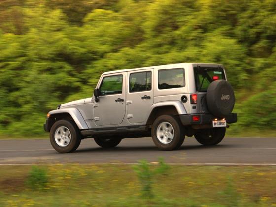Jeep Wrangler Sahara
