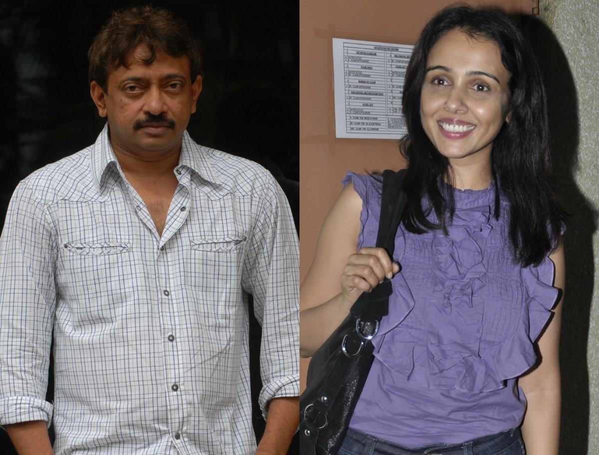 Ram Gopal Varma and Suchitra Krishnamoorthi