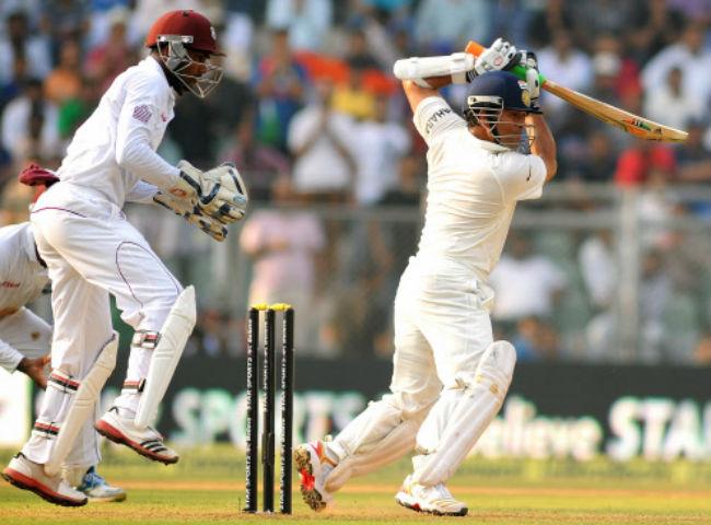 Sachin Tendulkar cuts