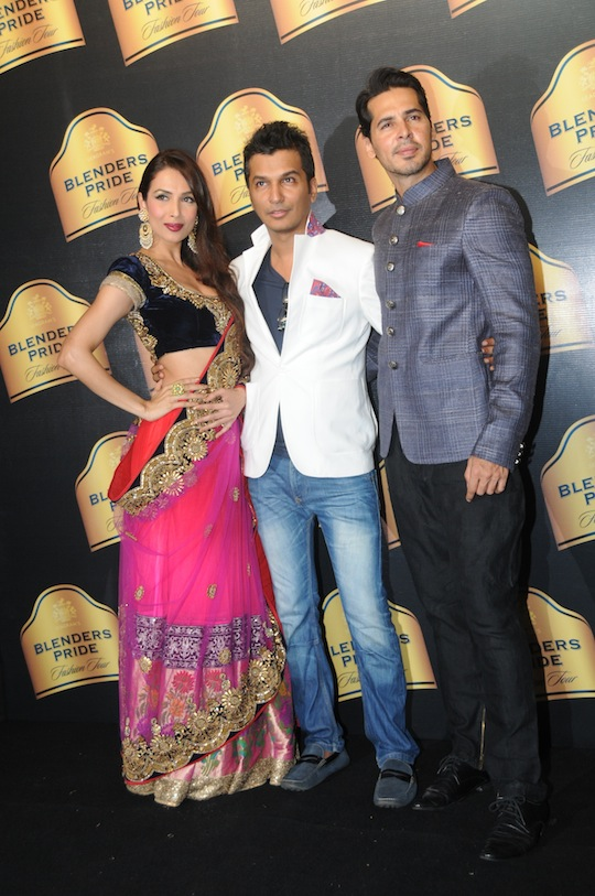 Dino Morea, Malaika and Vikram Phadnis
